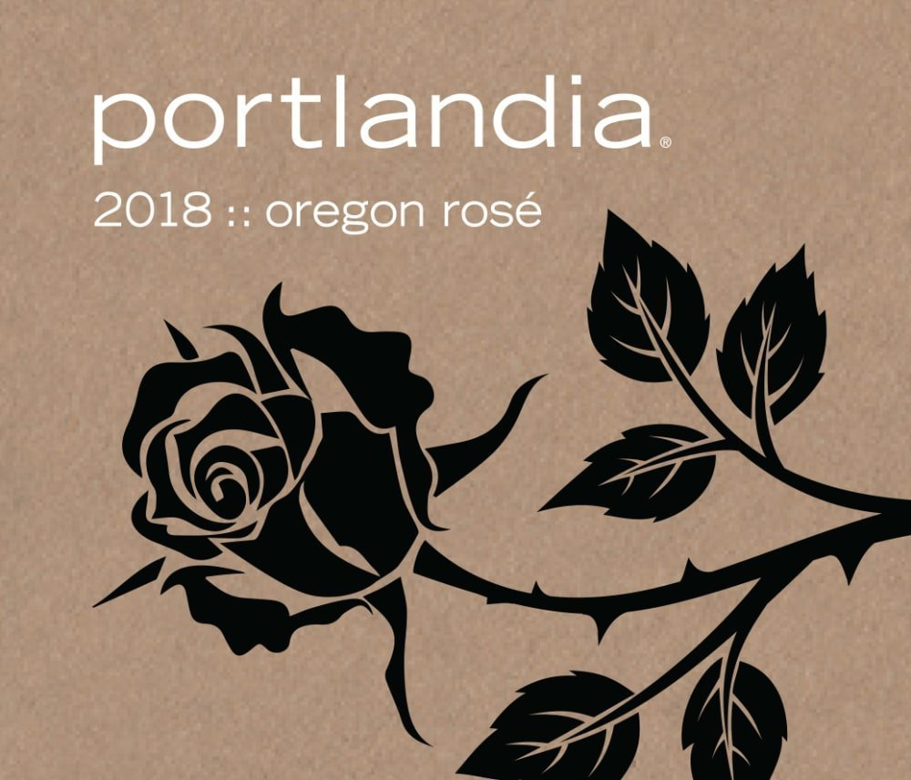 Portlandia Winery 2018 Rose - Rose Rose Wine