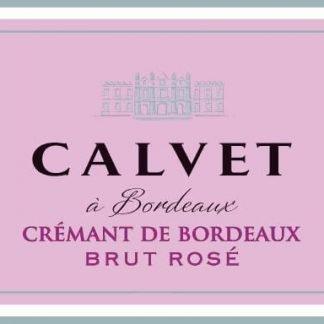 Calvet 2016 Cremant de Bordeaux Brut Rose - Champagne & Sparkling